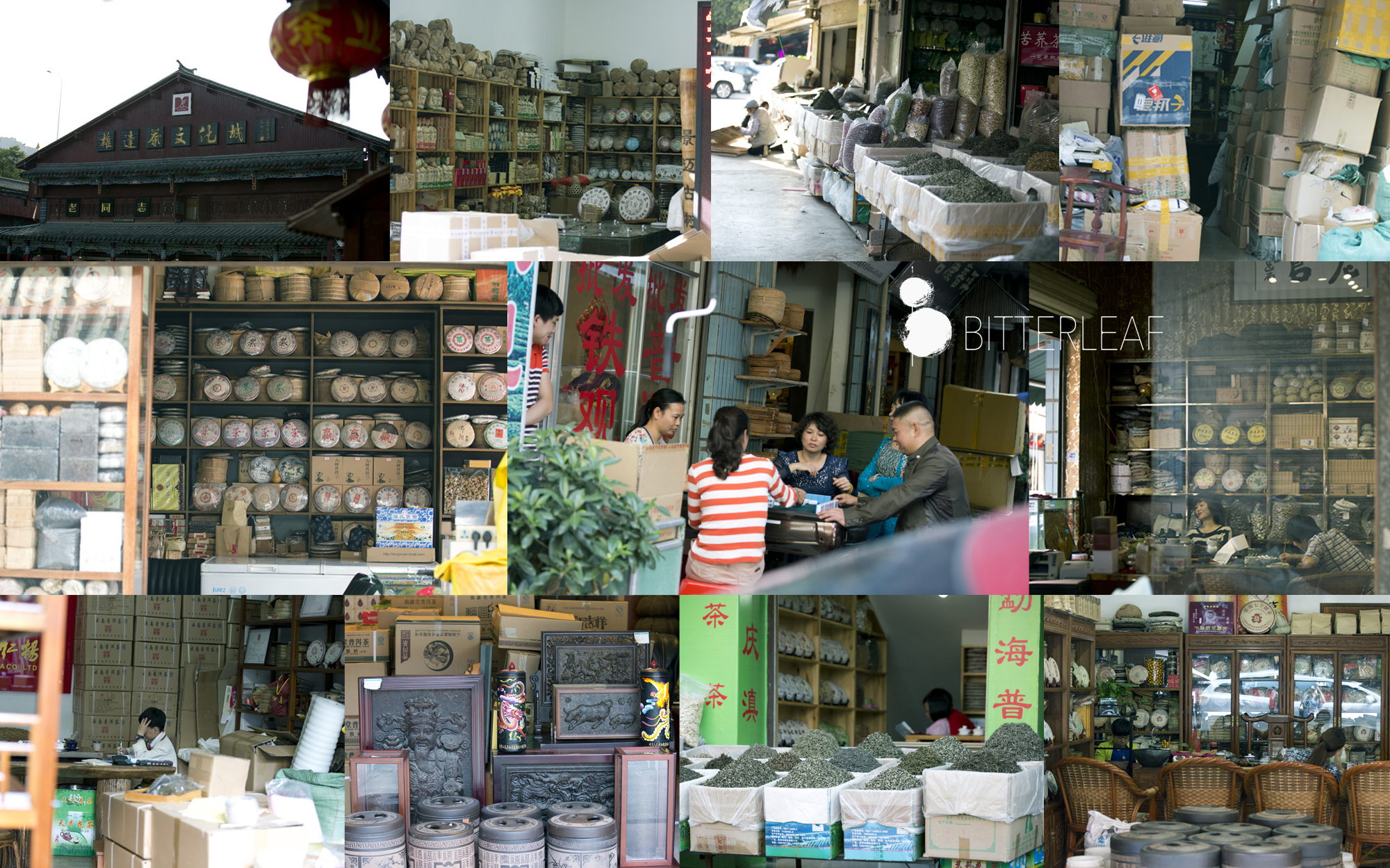 Searching For Buried Treasure in the Kunming Tea Market