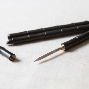 Warrior Black Bamboo Puer Pick
