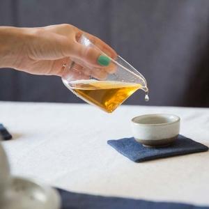 Teardrop Glass Gong Dao Bei Fair Cup