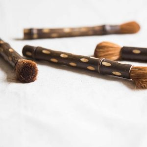 bamboo pot brush