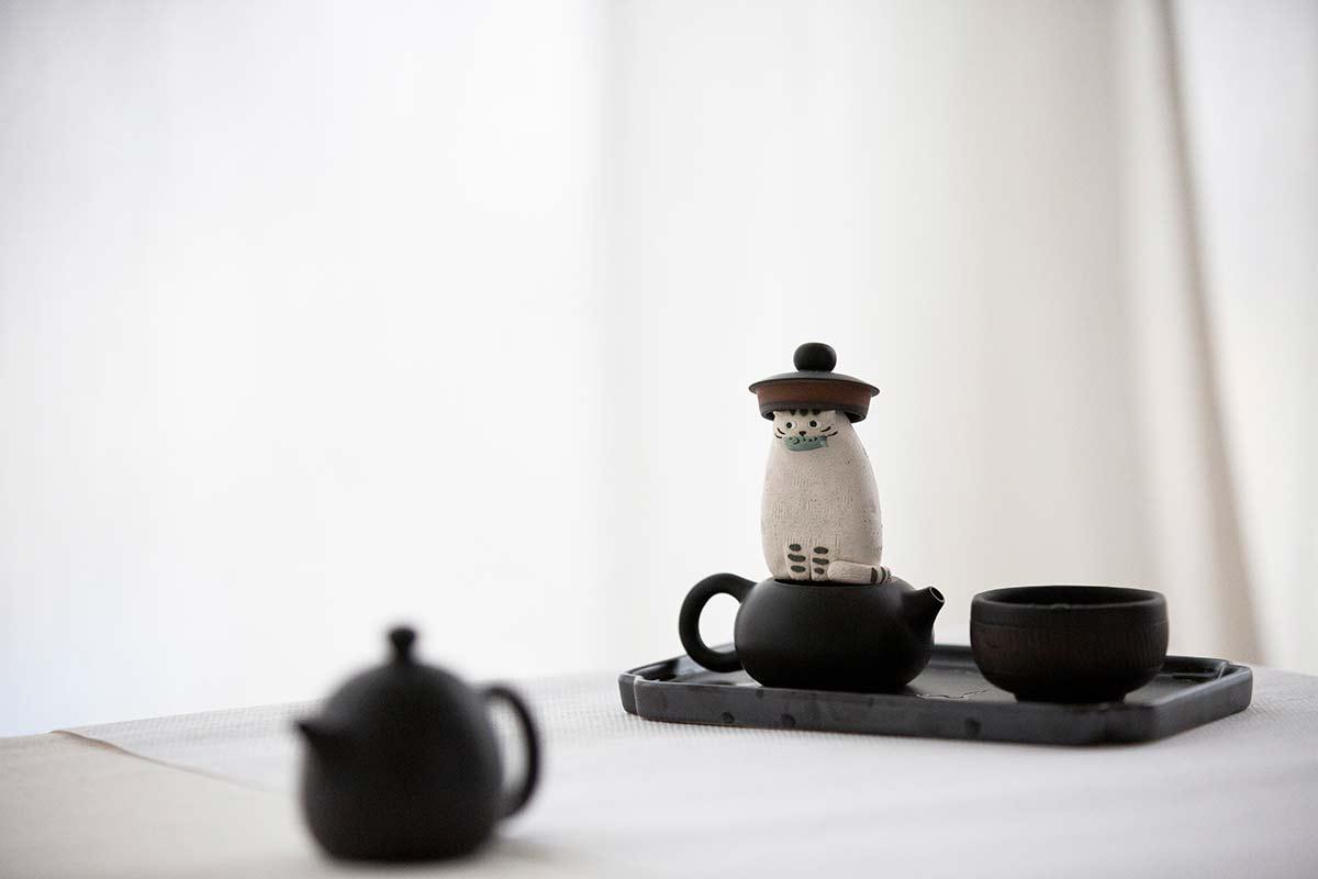 Jianshui Zitao Purple Clay Mini Teapots – Black