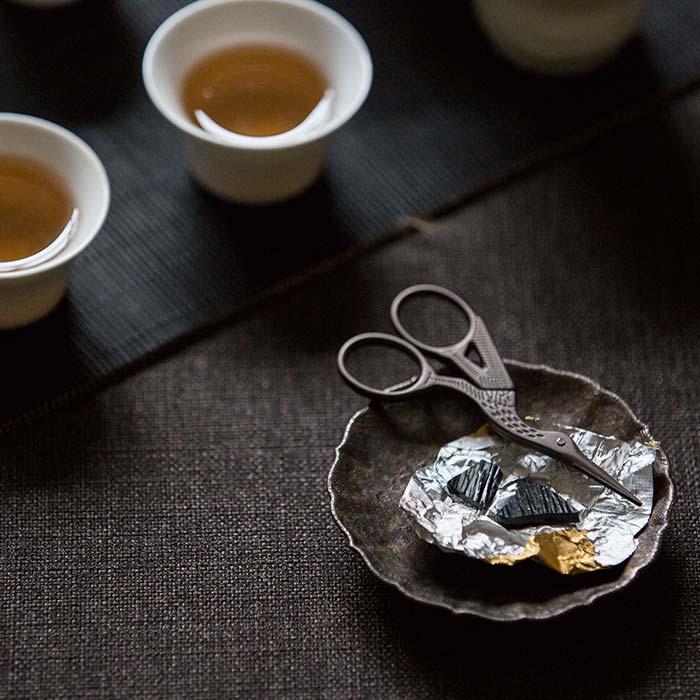 Yiwu Raw Puer Cha Gao Tea Paste