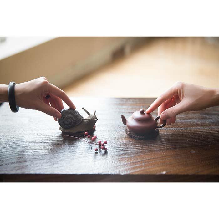Chaozhou Da Hong Pao Clay Bian Hu Teapot (60ml)
