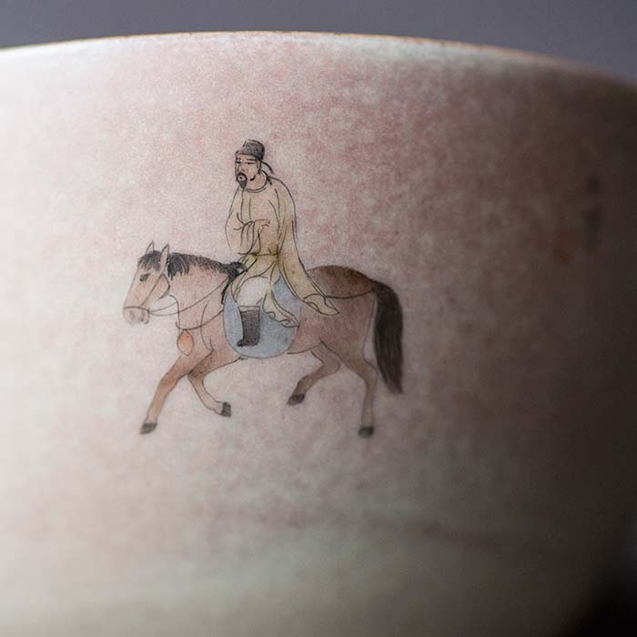 Blush Artist Series Wood Fired Teacup