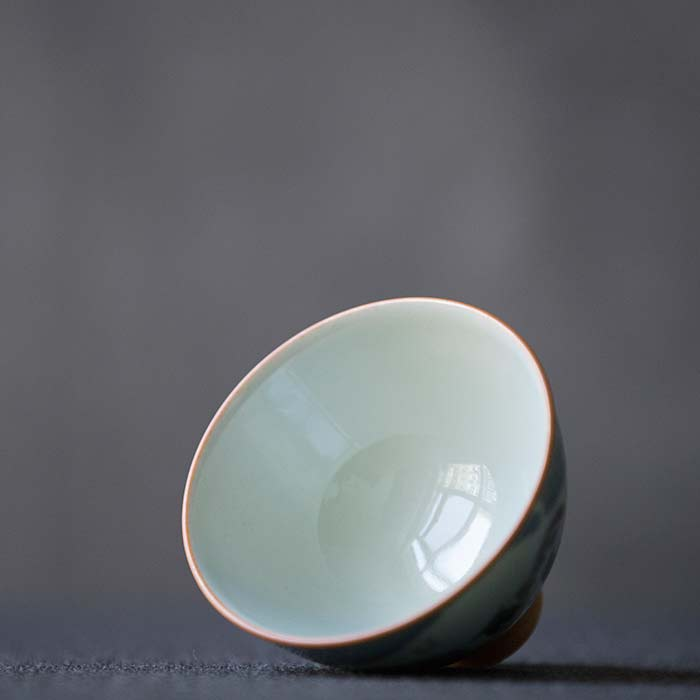 Catnap Artist Series Wood Fired Teacup
