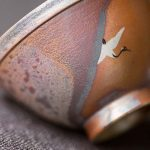 Sunset Artist Series Wood Fired Teacup