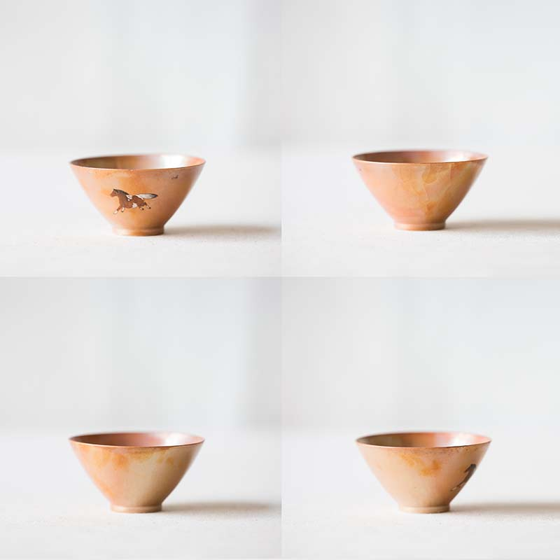 Cherub Artist Series Wood Fired Teacup