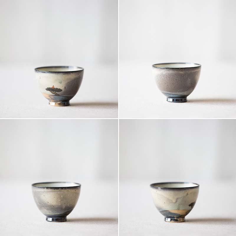 Transcendence Artist Series Wood Fired Teacup