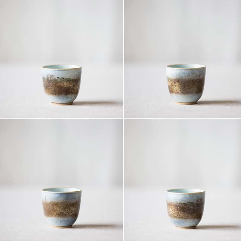 Utopia Artist Series Wood Fired Teacup