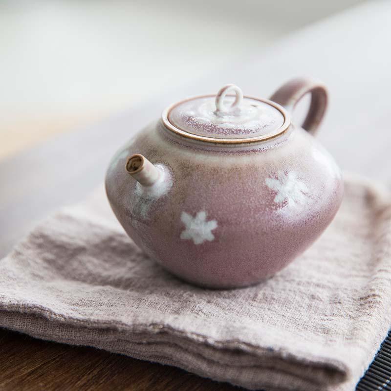 Flower Power Teapot