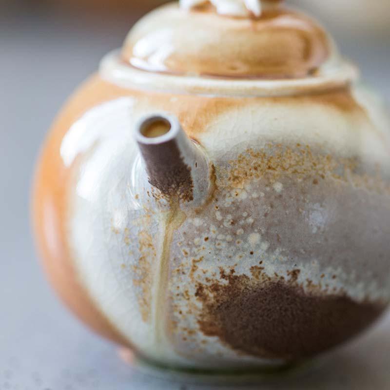 Nirvana Wood Fired Teapot (San)