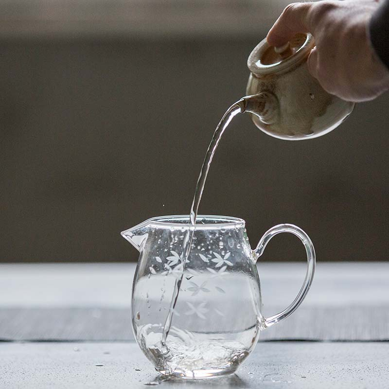 Nirvana Wood Fired Kyusu Teapot (Wu)