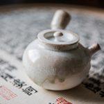 Nirvana Wood Fired Kyusu Teapot (Qi)