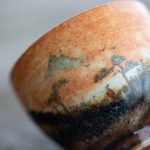 Serene Handpainted Shino Glaze Teacups