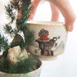 Shifu & Friends Handpainted Shino Glaze Teacups
