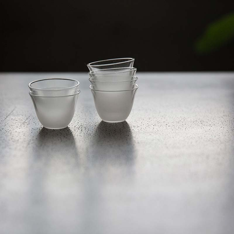 Fog Frosted Glass Teacup