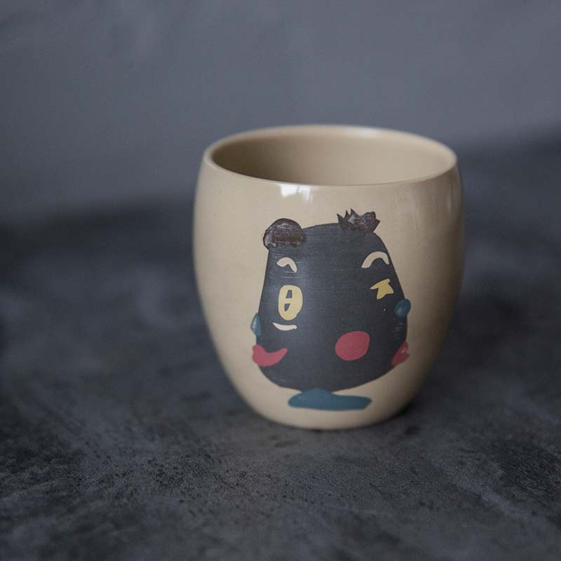 Picasso Jianshui Zitao Purple Clay Teacup