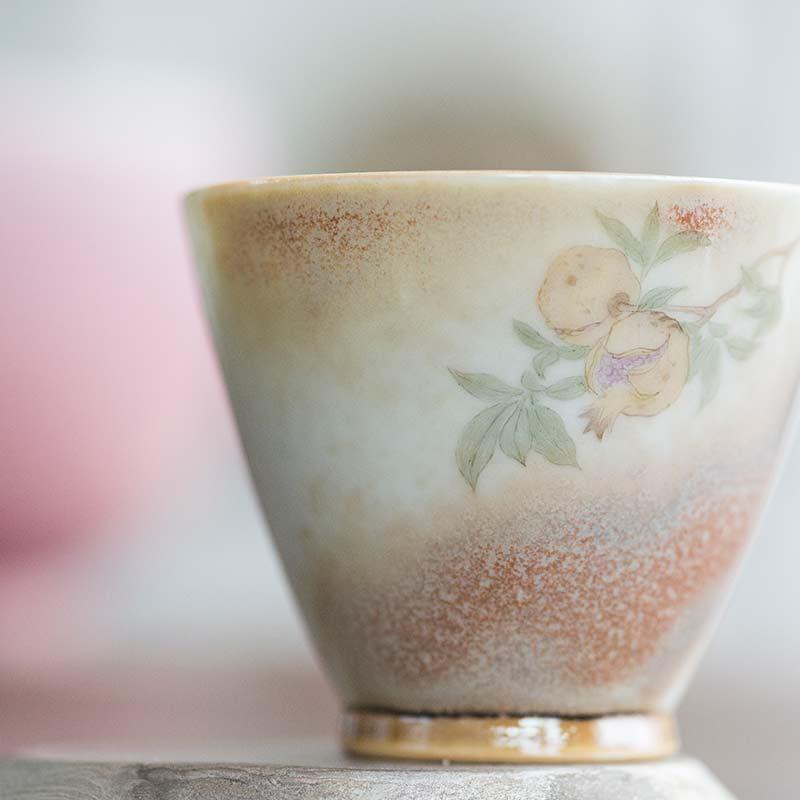 Abundance Artist Series Wood Fired Teacup