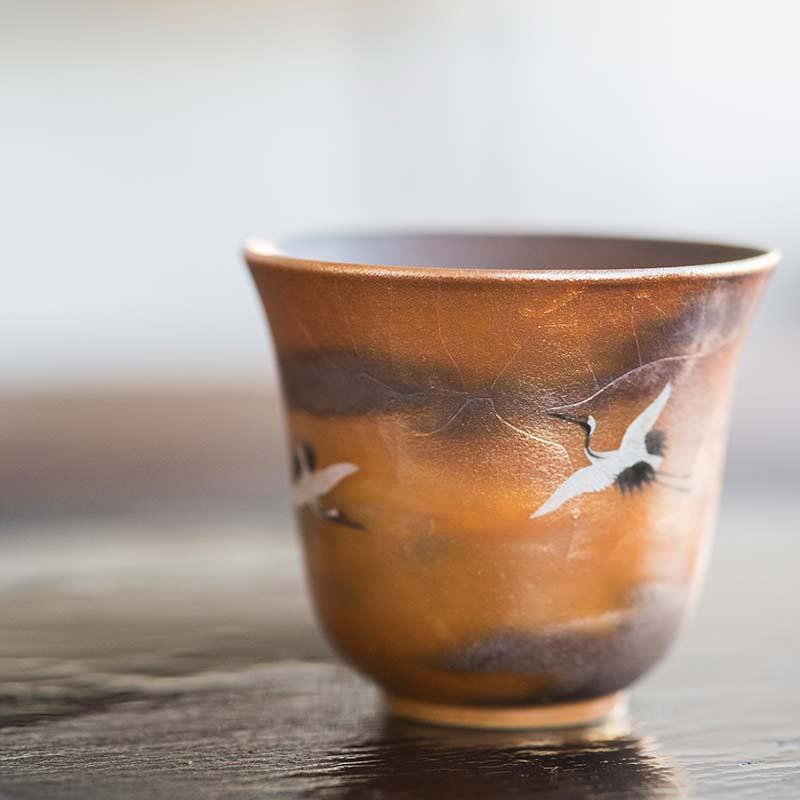 Cloud9 II Artist Series Wood Fired Teacup