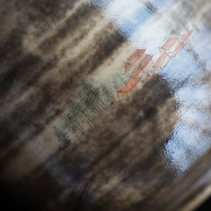 Through the Mist Artist Series Wood Fired Teacup