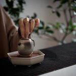Light & Shadow Shino Glaze Teapot