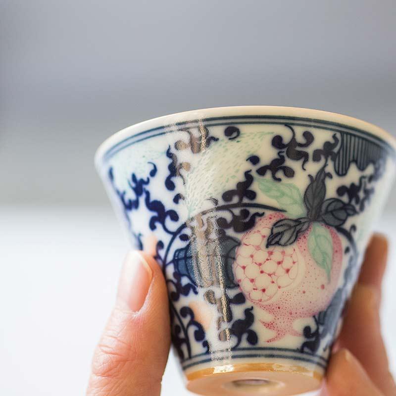 Ripe Artist Series Wood Fired Teacup