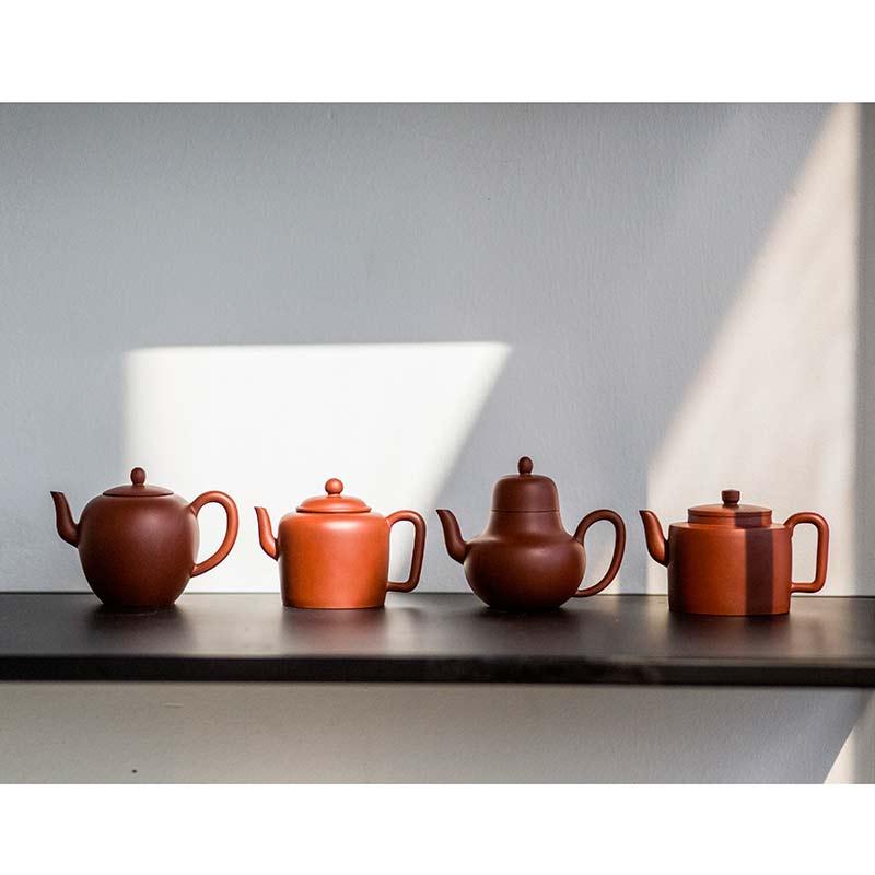 xiao-ping-yixing-da-hong-pao-clay-teapots