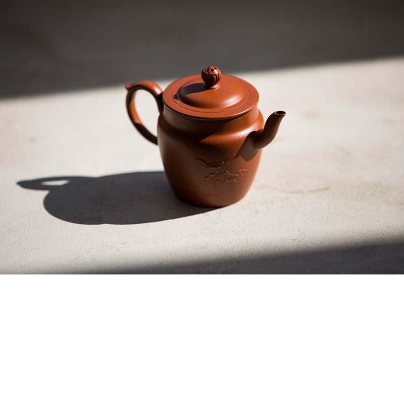 Idyll Yixing Zisha Clay Sengmao Teapot