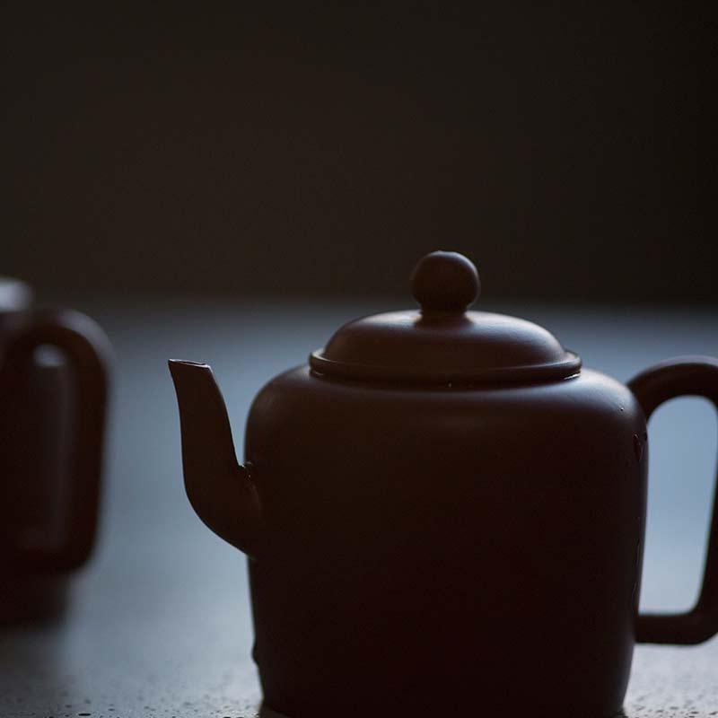 Xiao Pin Yixing Zisha Clay Yuanzhu Teapot