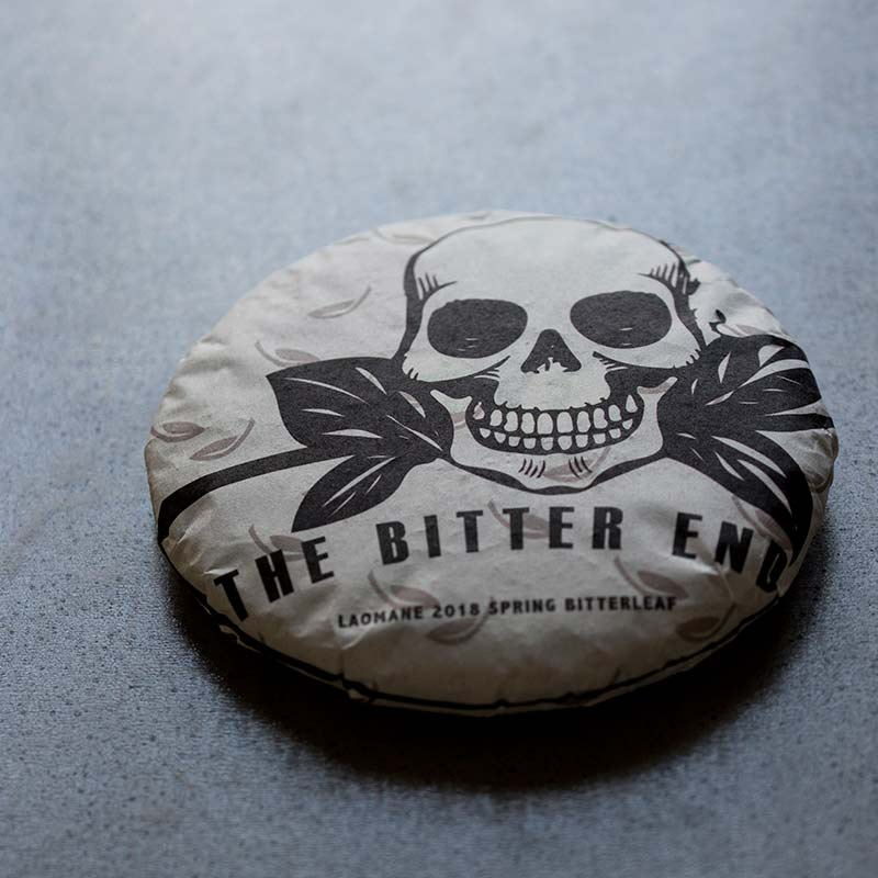 The Bitter End 2018 Spring Lao Man E Raw Puer