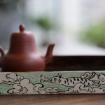 Flying Cat Tea Tray