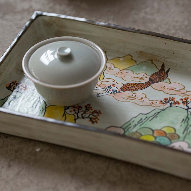 Mercat Tea Tray