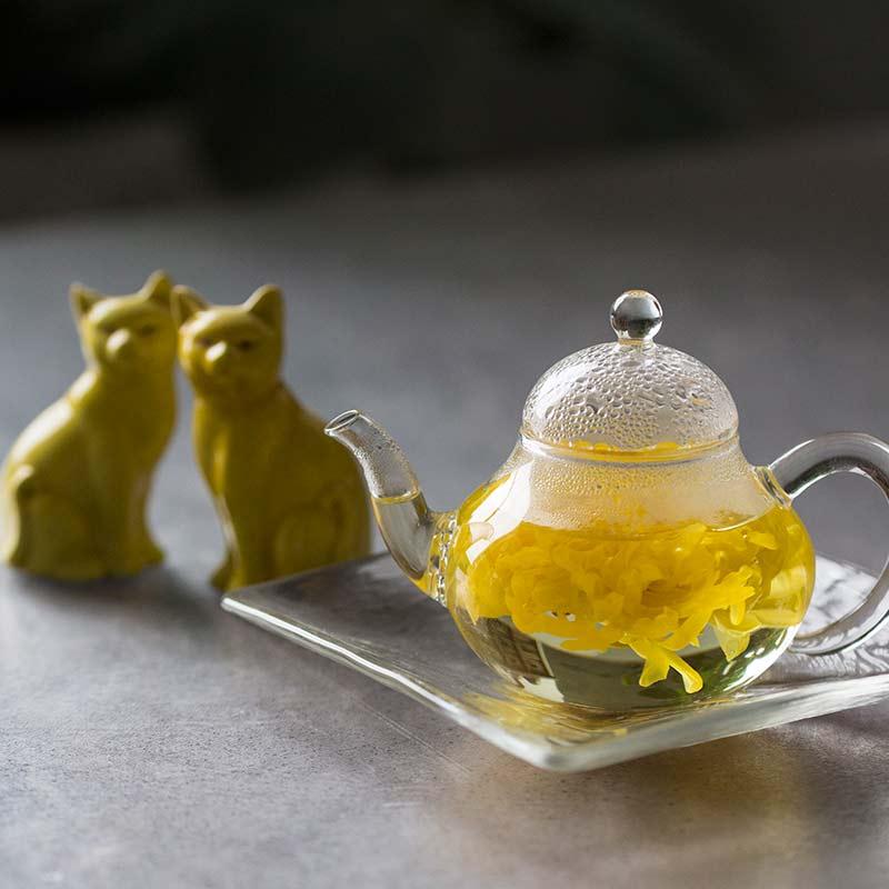 Fenêtre Glass Teapot