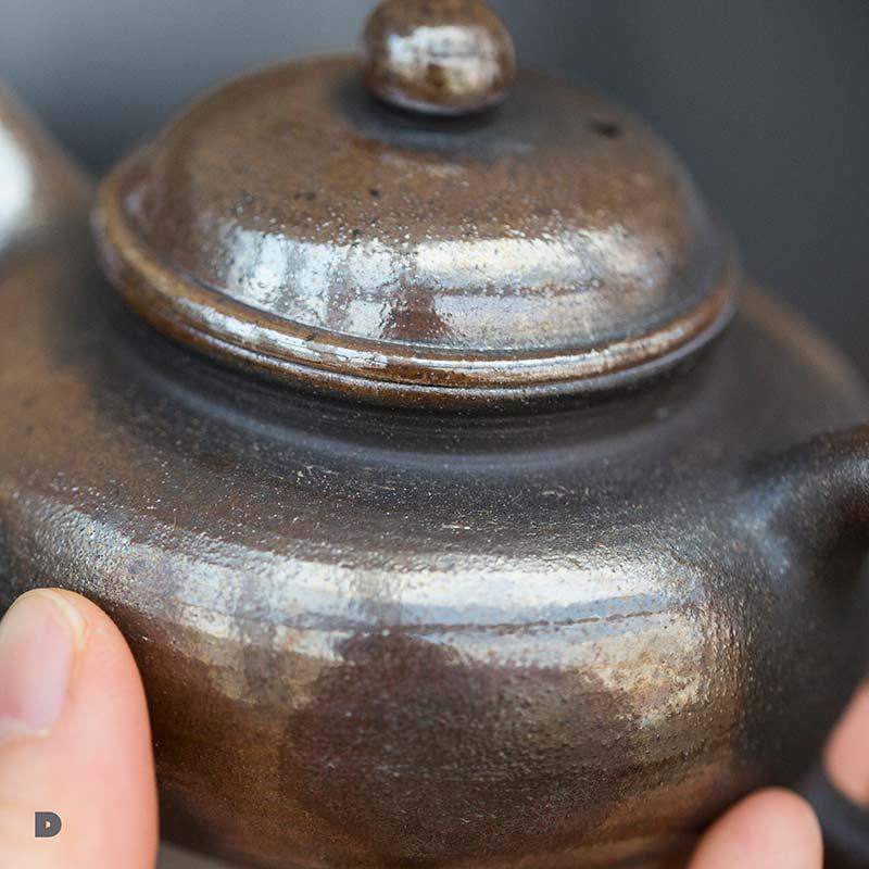 Gold Coin Wood Fired Fanggu Teapot