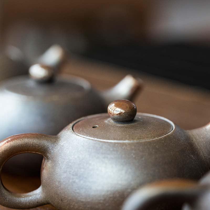 Gold Coin Wood Fired Xi Shi Teapot