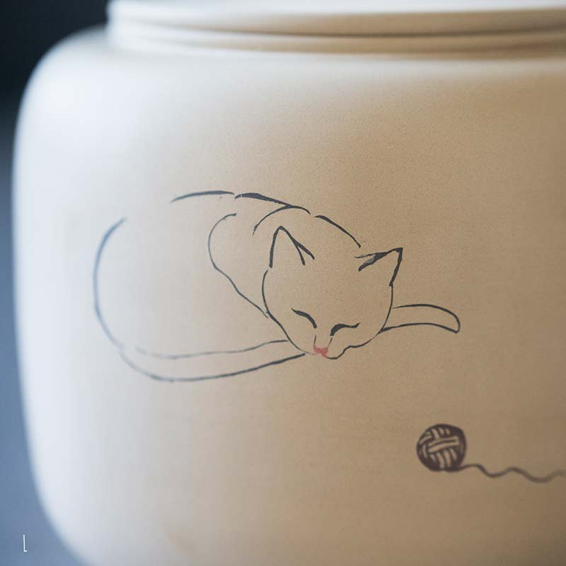 jianshui-zitao-cat-tea-jar-31