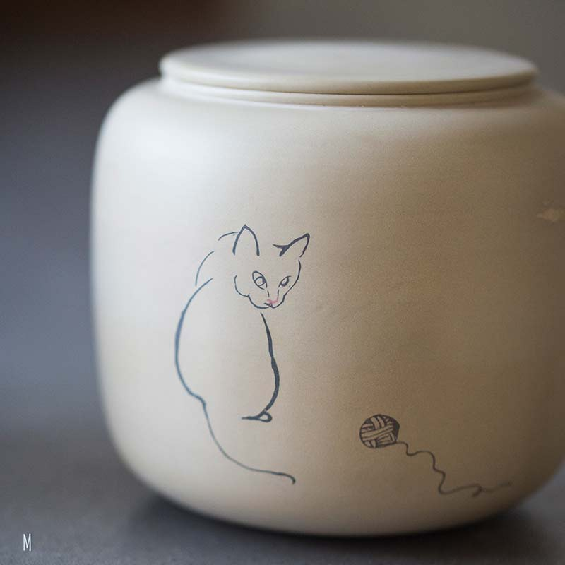 jianshui-zitao-cat-tea-jar-34
