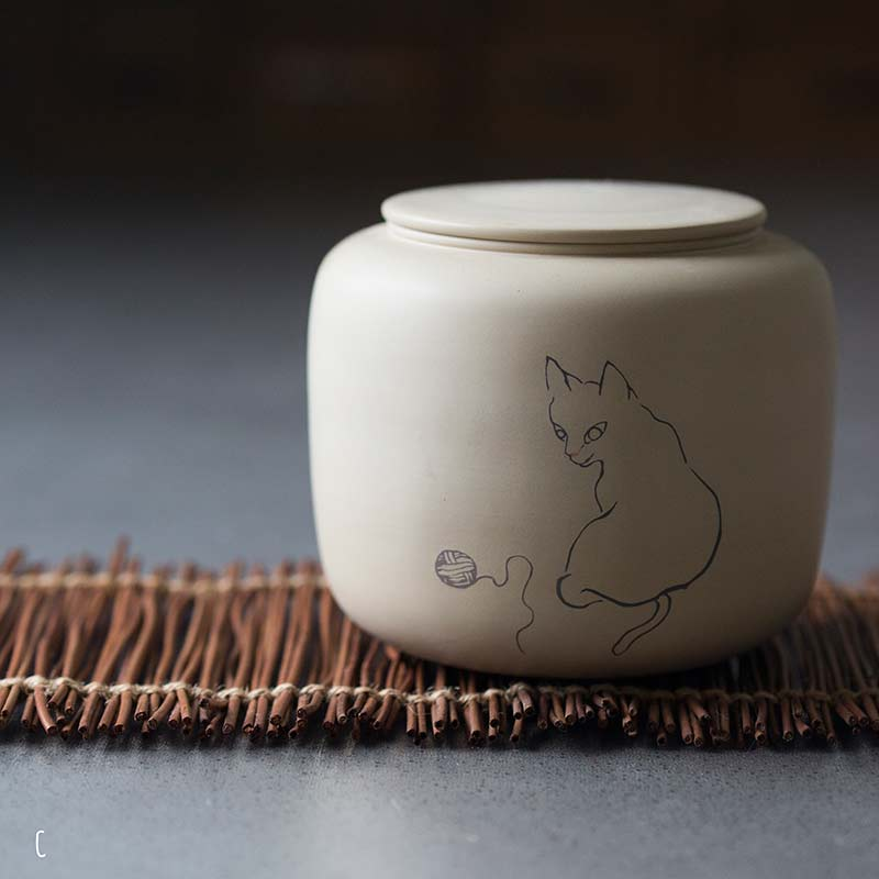 jianshui-zitao-cat-tea-jar-5
