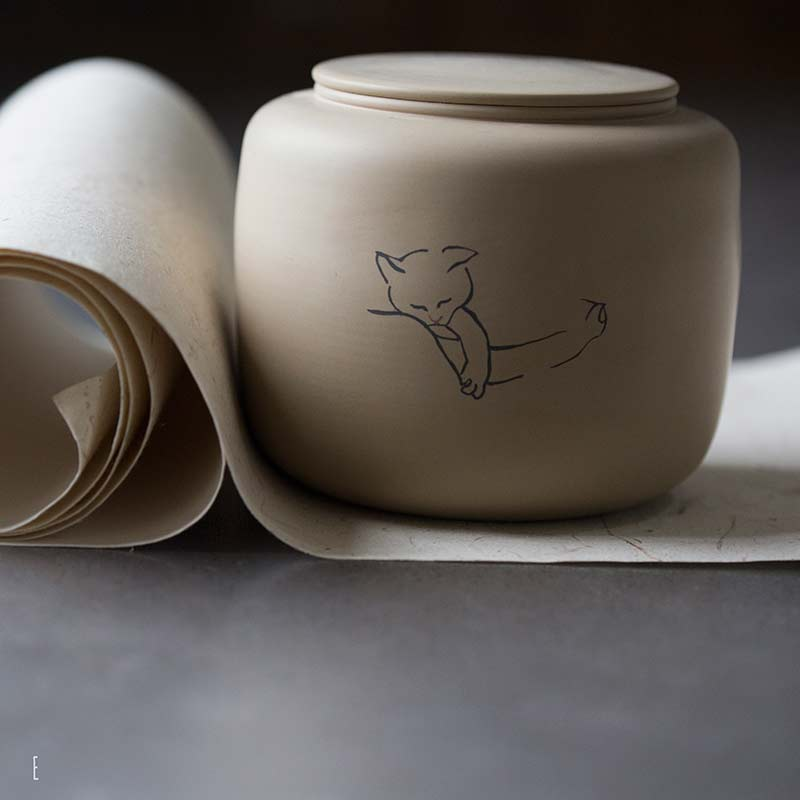 jianshui-zitao-cat-tea-jar-9