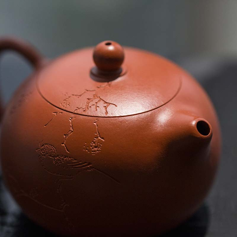 Idyll Yixing Zisha Clay Xishi Teapot (Bird II)
