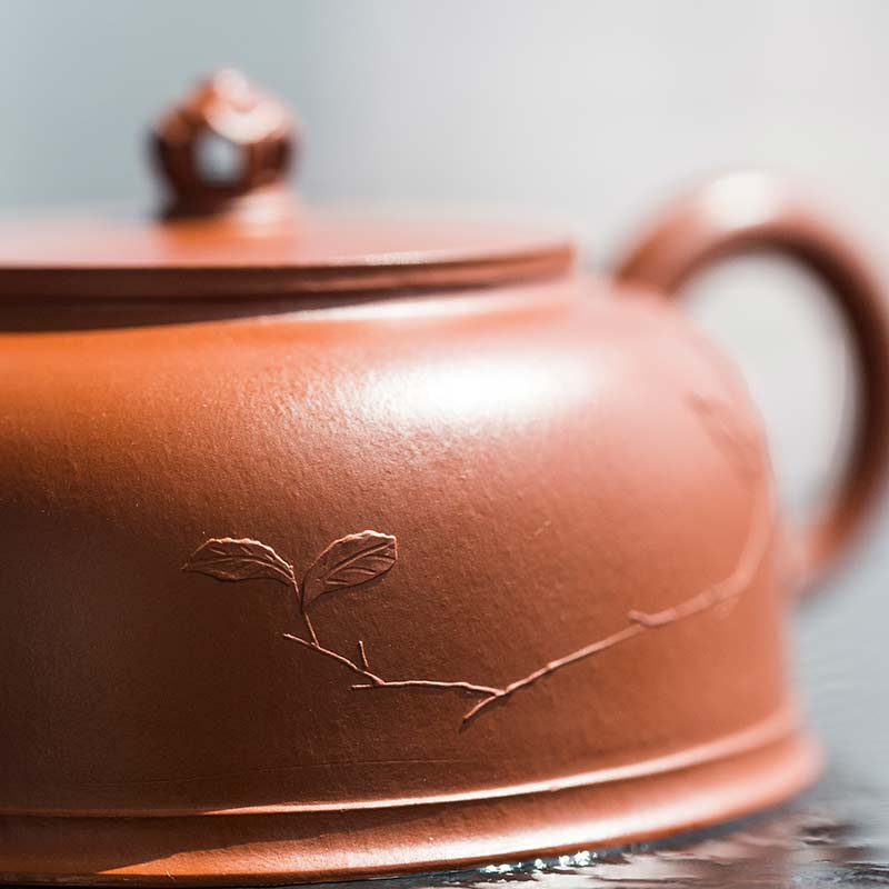 Idyll Yixing Zisha Clay Zhu Jin Teapot (Bird)