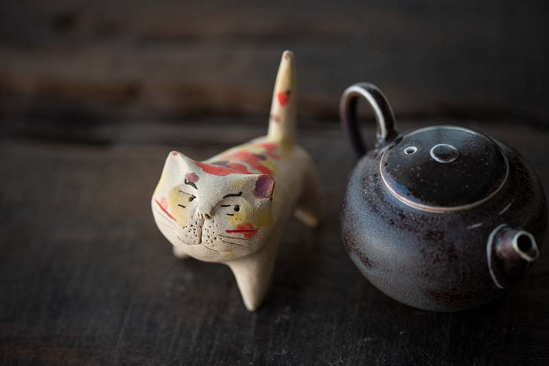 Cat Gang Tea Pet