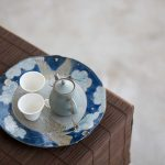 Cloud 9 Tea Tray Pot Support – Blue