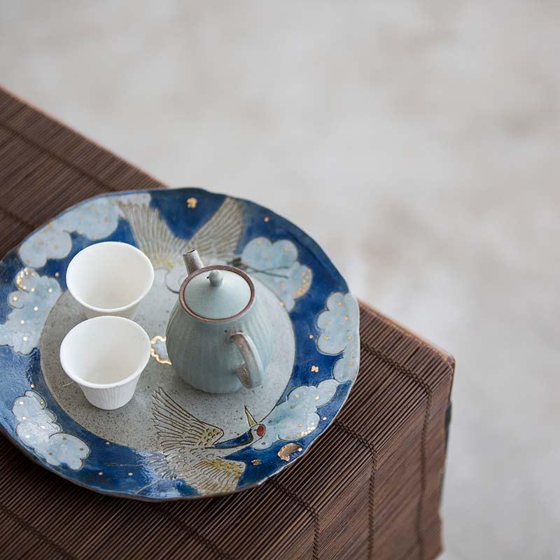 Cloud 9 Tea Tray Pot Support – Blue
