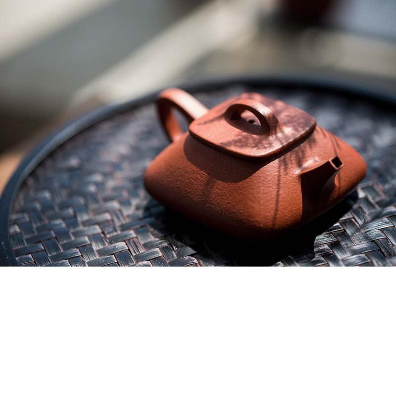 Sifang Shipiao Zhuni Yixing Zisha Clay Teapot
