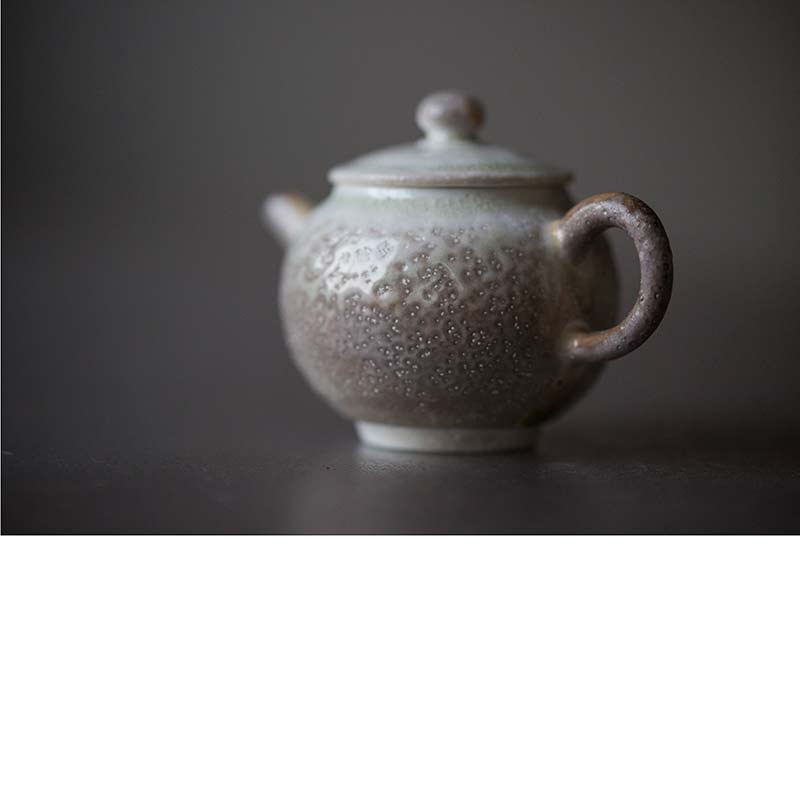 Sublime Wood Fired Teapot – Eclipse