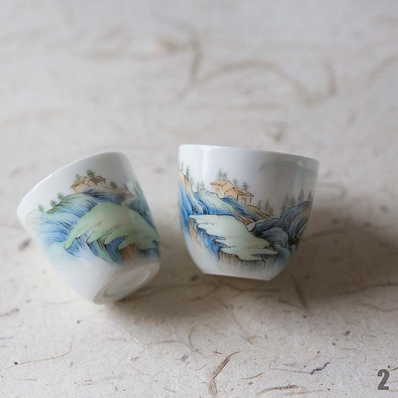 Tiny Utopia Teacups