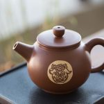 Jianshui Zitao Purple Clay Teapot, Teacup & Tea Jar