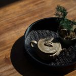 Broad Sculpted Yixing Duanni Teapot