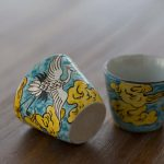 Cloud 9 Handpainted Teacup